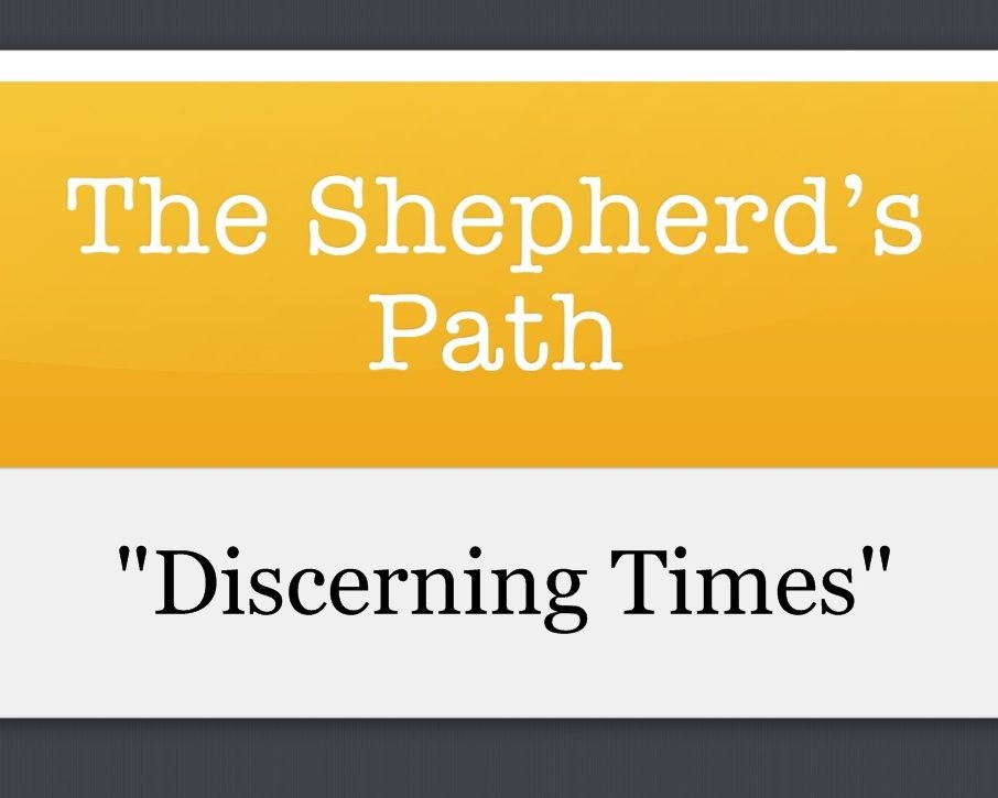 The Shepherd's Path: Discerning Times