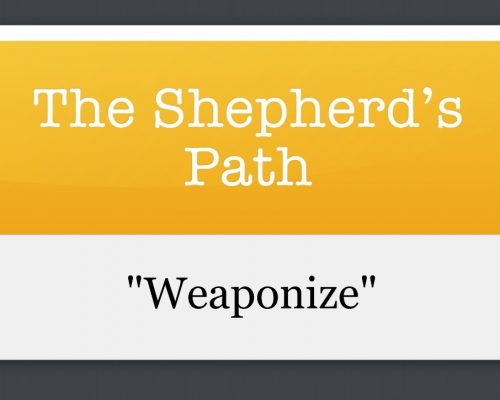 The Shepherd's Path: Weaponize