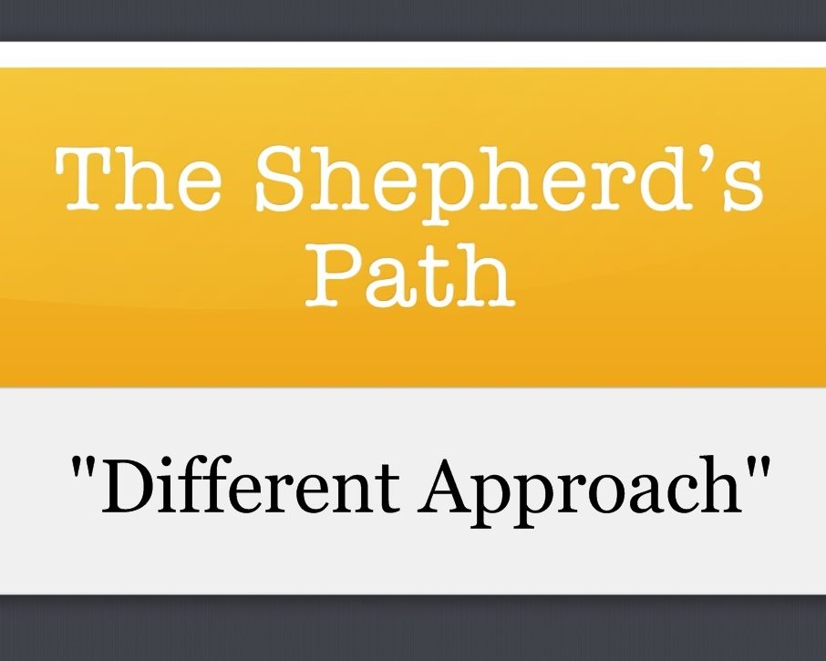 The Shepherd's Path: Different Approach