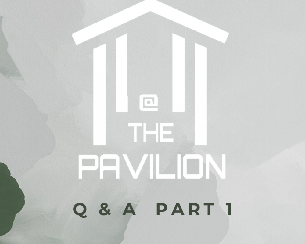 At the Pavilion Q&A Part 1