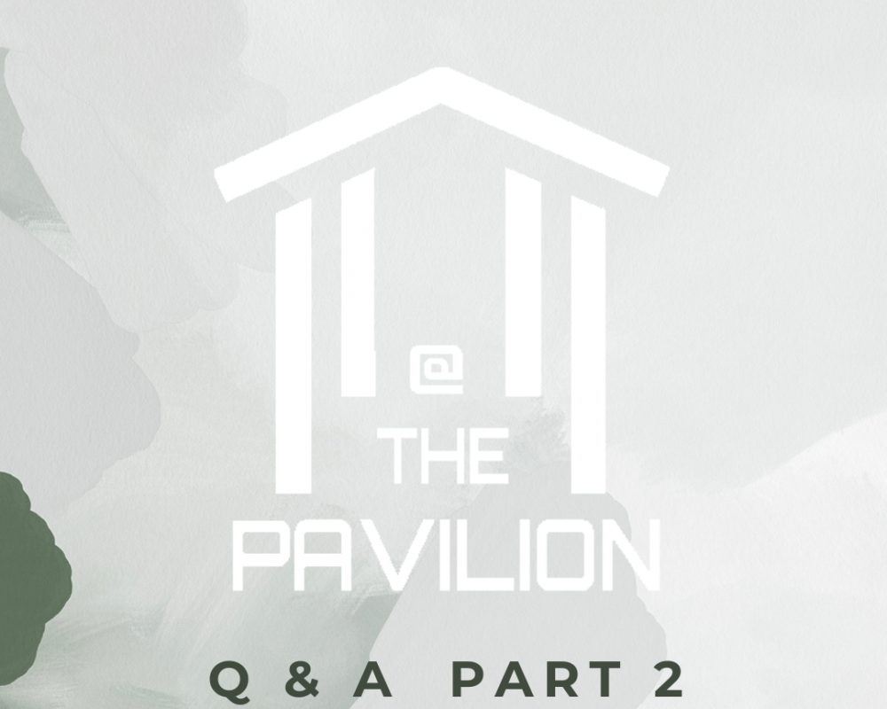 At the Pavilion Q&A Part 2
